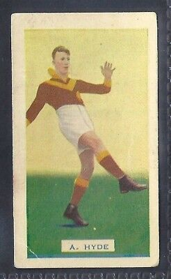 Hoadleys-Victorian Football Ers (Action)-Aussie Rules-#025- Hawthorn - Hyde