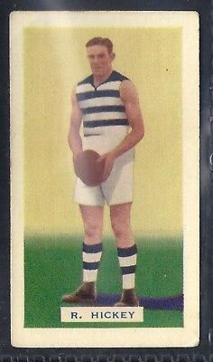 Hoadleys-Victorian Football Ers (Action)-Aussie Rules-#042- Geelong - Hickey