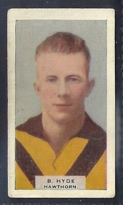 Hoadleys-Victorian Football Ers (Heads 1-50)-Aussie Rules-#020- Hawthorn - Hyde