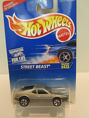 Hot Wheels Street Beast Collector #473   Collectable Item  Vintage