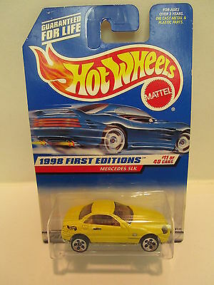 Hot Wheels  First Editions Mercedes SLK #11 of 40  Very Collectable Item