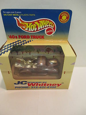 Hot Wheels JC Whitney 40s Ford Pickup with Hood Scoop  Classic Collectable