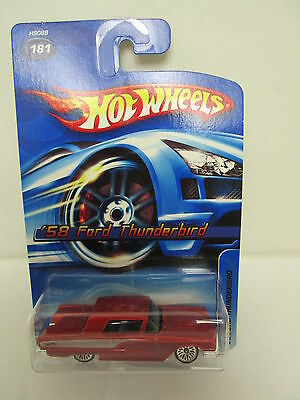 Hot Wheels '58 Ford  Thunderbird #181  Colossal Authentic Collectable