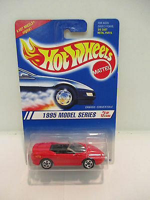 Hot Wheels 1995 Model Series Camero Convertible  #8 of 12   Antique  Collectable