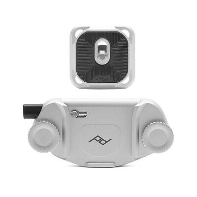 Peak Design CAPTURE V3 Camera Clip With Plate For DSLR Mirrorless Camera  Silver