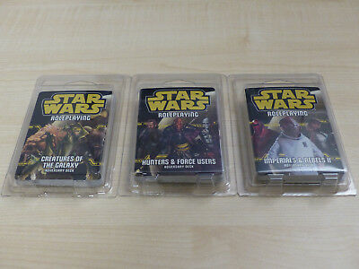 Star Wars Roleplaying Adversary Decks (Imperials & Rebels II +2 weitere)