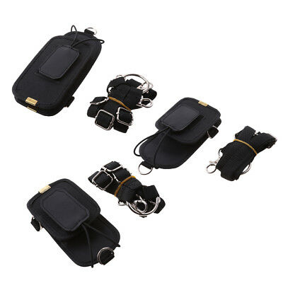 L+M+S Nylon Bag Belt Holster Carry Case for Motorola BaoFeng 2-Way Radio