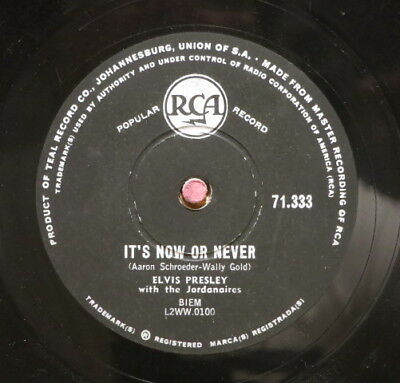 Elvis Presley / It´s Now Or Never & A Mess Of Blues (06-1217)