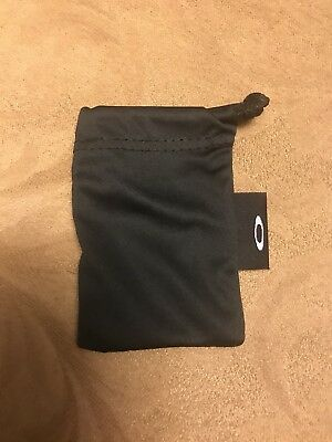 SMALL BLACK LENS Oakley Microfiber Cleaning bag/case for Extra Lenses