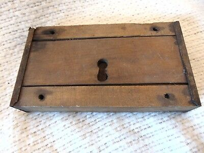 Antique Wooden Church Door Lock Mortise No Key