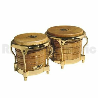 Latin Percussion LP793X Bongos - Gold Hardware