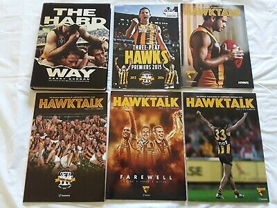 3 Hawthorn Football Club Book & Magazines