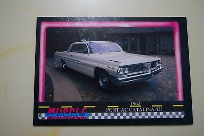 Muscle Cards Series 1 King Of The Hill #50 1962 Pontiac Catalina 421