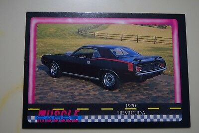 Muscle Cards Series 1 King Of The Hill #8 1970 Plymouth 426 Hemi Cuda