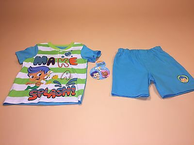 Bubble Guppies Toddler Boy Shirt & Shorts Outfit Set New 3T