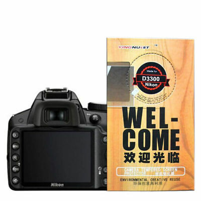 Magic 9H Tempered Glass Screen Protector Film for Nikon D3300