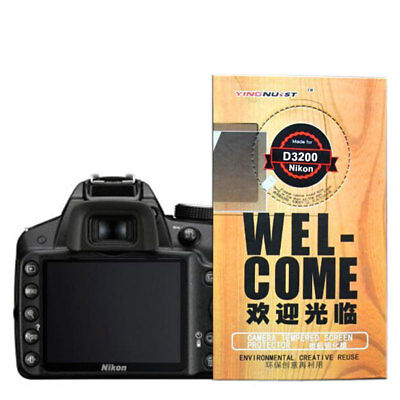 Magic 9H Tempered Glass Screen Protector Film for Nikon D3200