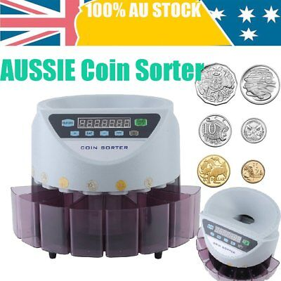 Modern Australian Coin Counter Money Sorter Automatic Counting Sorting Machine A