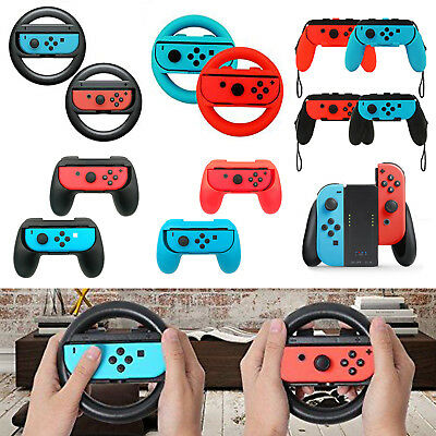For Nintendo Switch Joy-con Grips Games Controller Kit Racing Game Handle Hot