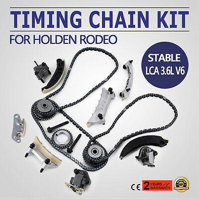 Timing Chain Kit For Holden Rodeo 2007-2015 Alloytec 3.6L V6 WN LE0 LY7