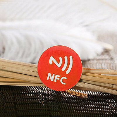 Pack of 6pcs NFC Smart Tag Stickers Rfid Tag Adhesive Label For Android Phone