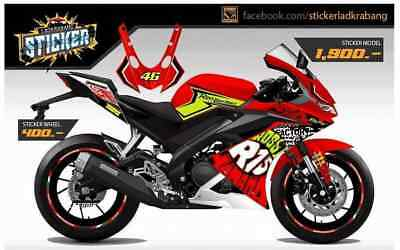 YAMAHA YZF R15 New 2018 Sticker Designed Fairings Full Body Graphic Parts  Frame