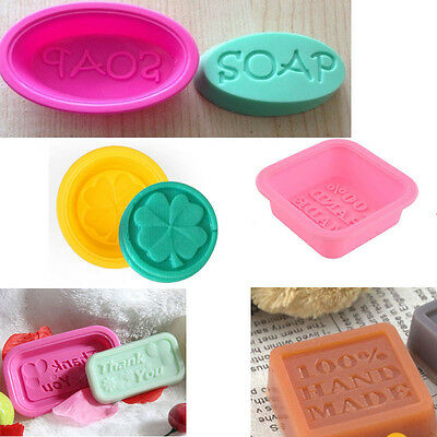 Hot  DIY Silicone Ice Cube Chocolate Cake Cookie Cupcake Soap Candy Molds Mould