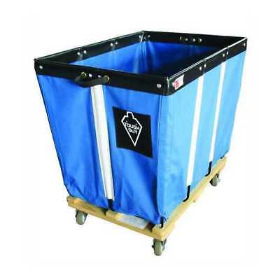 Basket Truck,6 Bu. Cap.,Blue,30 In. L TOUGH GUY 33W303