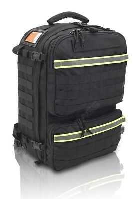Paramedic Rescue Bag-Tactical-Black-Advanced Life Support-Basic Life Support