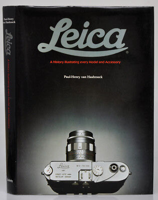 """P.H.van Hasbroeck libro """"Leica A History illustrating every Model and....D512BIS"""