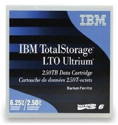 IBM 10 x LTO6 ULTRIUM 2.5TB / 6.25TB RW DATA CARTRIDGE (00V7590)