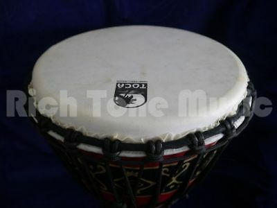 Toca SFDJ-10RP 10 Inch Synergy Freestyle Djembe - Rope Tuned - Bali Red