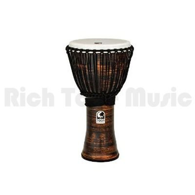 Toca TF2DJ-12SC 12 Inch Freestyle II Djembe - Rope Tuned - Spun Copper