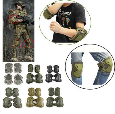 Tactical paintball protection knee pads & elbow pads outdoor sport Airsoft