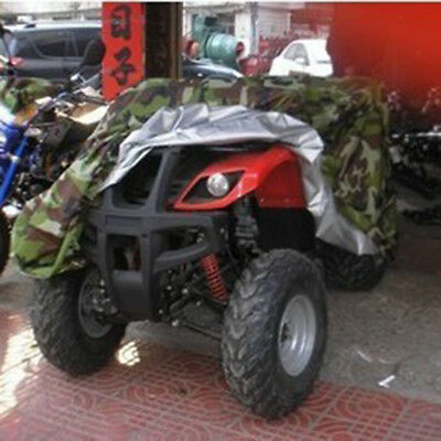 L Universal ATV Quad Bike Cover Camouflage Waterproof Dustproof Anti-UV