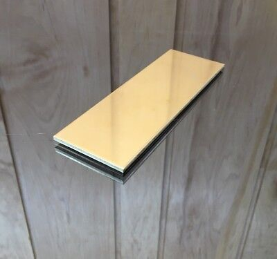 "1/8 BRASS SHEET PLATE NEW 2""X6"" .125 Thick *CUSTOM 1/8 SIZES AVAILABLE*"