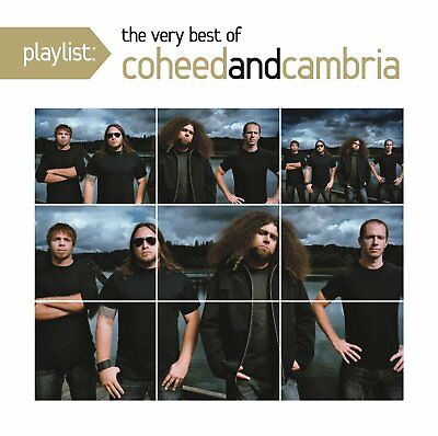 Coheed and Cambria - Playlist: The Very Best of (2011)  CD  NEW  SPEEDYPOST