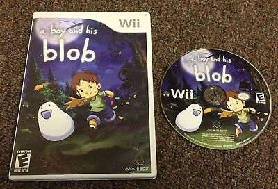 A Boy And His Blob game for Nintendo Wii And Wii U