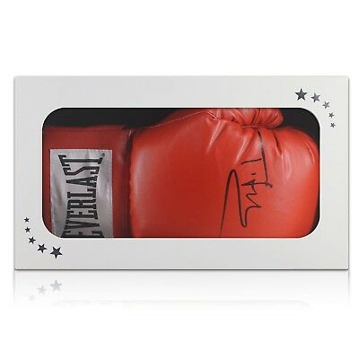 Tyson Fury Signed Red Everlast Boxing Glove Autographed Memorabilia Gift