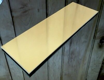 """1/8 BRASS SHEET PLATE NEW 4""""X12"""" .125 Thick *CUSTOM 1/8 SIZES AVAILABLE*"""