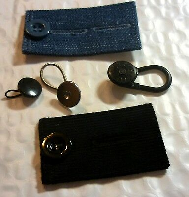 5 Pants Extender Waist Expander Button Jeans COMBO Try them All