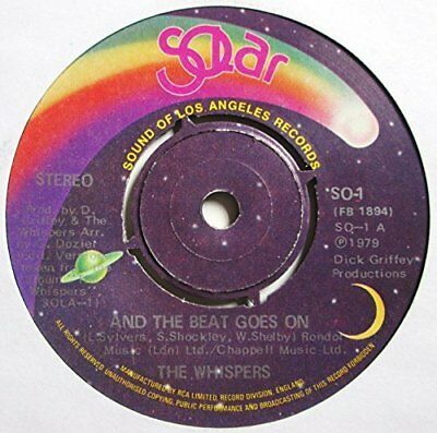 """Whispers And the beat goes on (1979)  [7"""" Single]"""