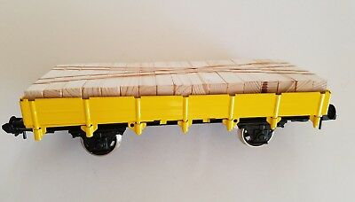 Marklin Maxi,1 gauge, spur 1 - Yellow flat wagon - NEW NO BOX # 81017 ?