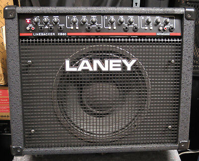 Laney LINEBACKER KB80, Universal- 3-Kanal Keyboard-Verstärker 80Wrms,Hall, top!