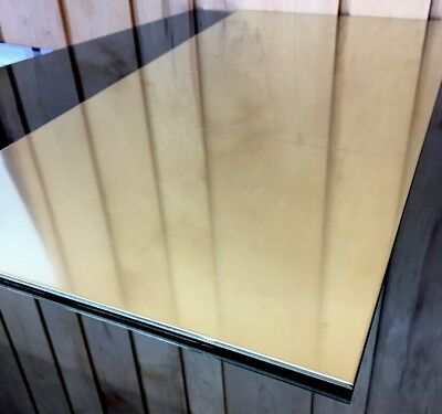 "1/8 BRASS SHEET PLATE NEW 12""X24"" .125 Thick *CUSTOM 1/8 SIZES AVAILABLE*"