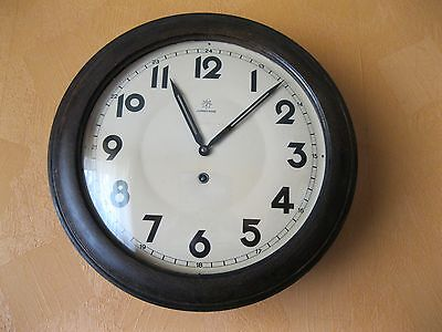 Antique German Wooden Wall Clock Junghans...work - Ok