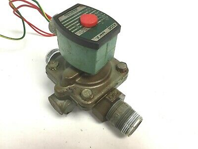"Asco 272610-032-D Stainless Steel Solenoid Valve, Ports: 1"" NPT, Voltage: 120VAC"