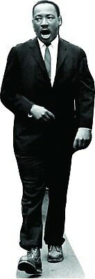 "68"" MLK Martin Luther King Jr. March CARDBOARD CUTOUT Standee"