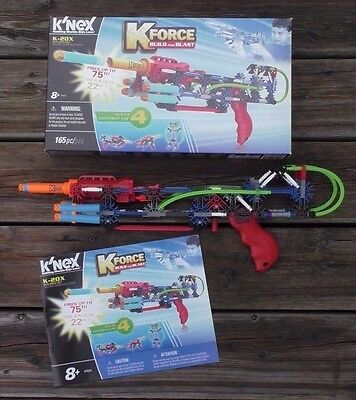 K'Nex Knex K-Force KForce K-20X Building Set 47524 Dartblaster Blaster TOP!