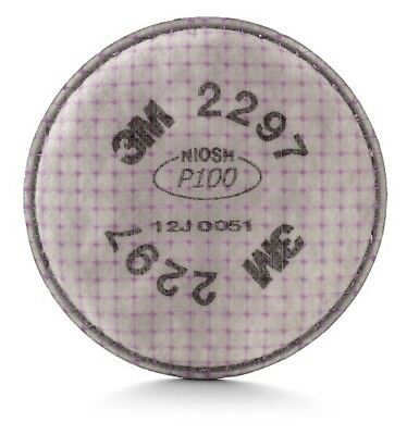 3M 17172 Advanced Particulate 2297 Filter P100 Respiratory Protection